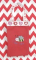 Valentine Treat Bag with Bee Mine and Hearts