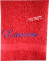 Personalized School Mascot Hand Towel