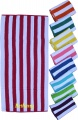 Cabana Striped Colored Beach Towel Pool or Beach side