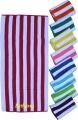Cabana Striped Colored Beach Towel Pool or Beach side