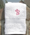 Personalized Hand Wash White Cloth