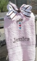 Horse Lovers Towel and Bow Matching Set