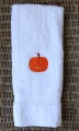 Pumpkin Smiling Face Fall Hand Towel