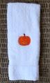 Pumpkin Smiling Face Fall Hand Towel