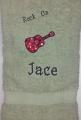 Boy Guitar Theme Bath Towel-  Rock ON