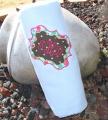 Sassy Monogram Fleece Blanket with Monogram Initials