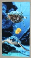 Sea Turtles Swimming Beach Towel